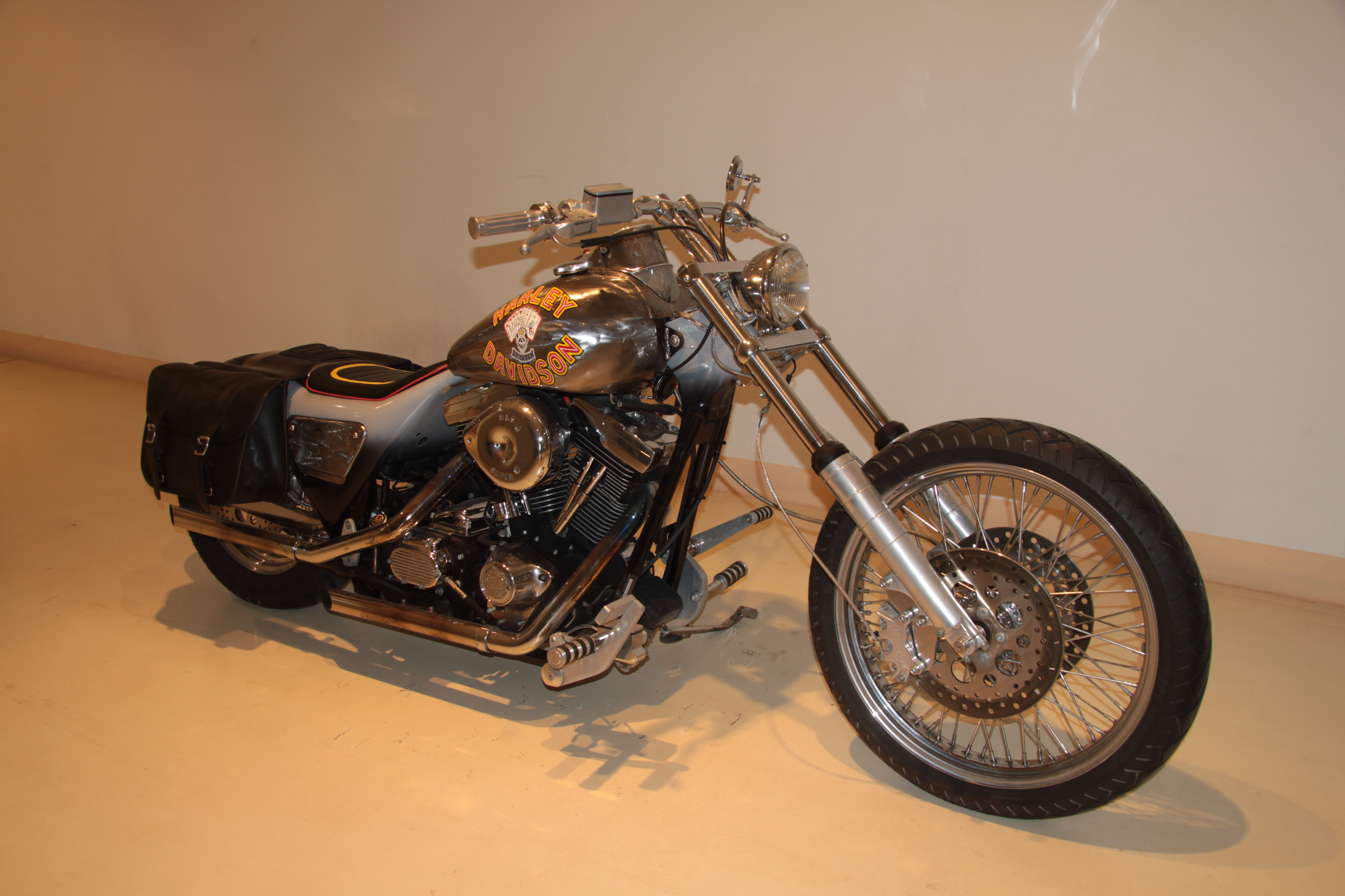 Harley davidson black death — pic 12